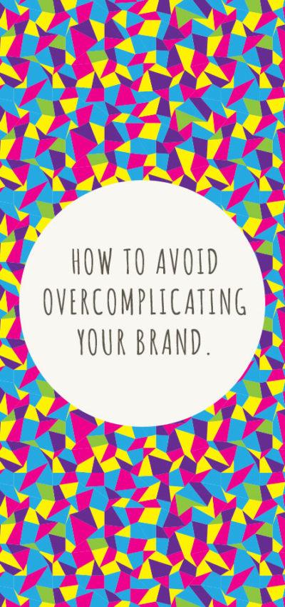 Overcomplicating