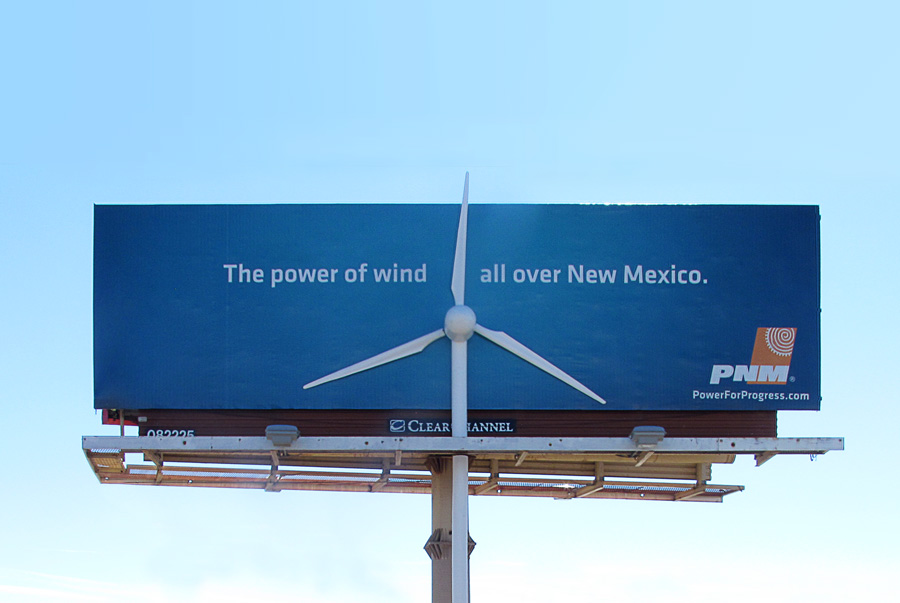 PNM_WindTurbine_Billboard 1